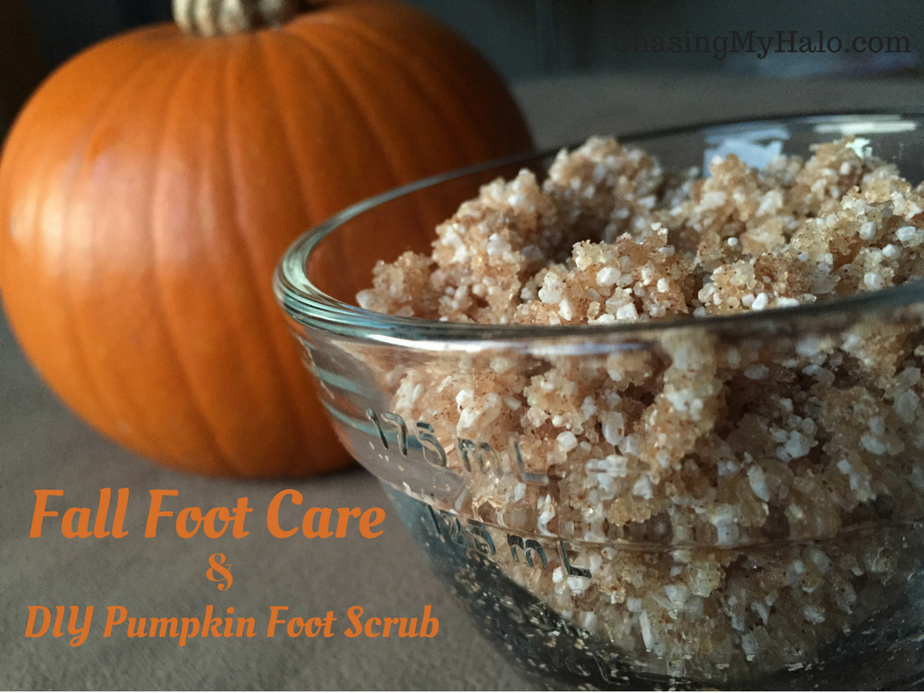 The DIY Pumpkin Foot Scrub You Need toTry