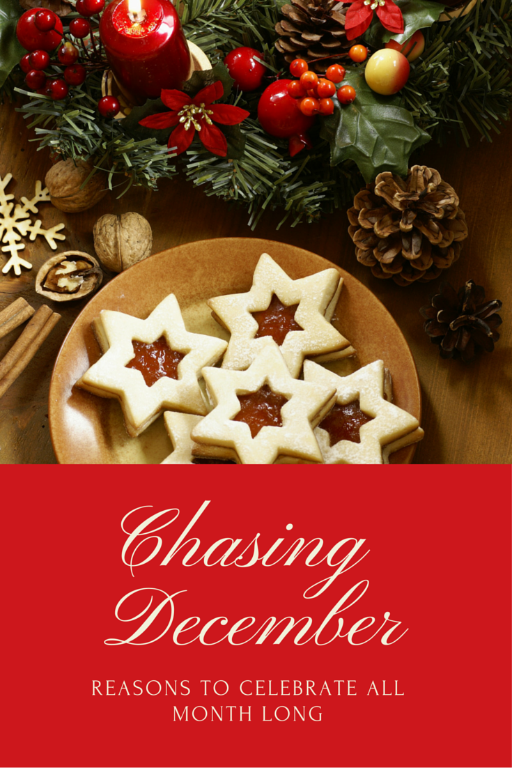 chasing december national days in december and december